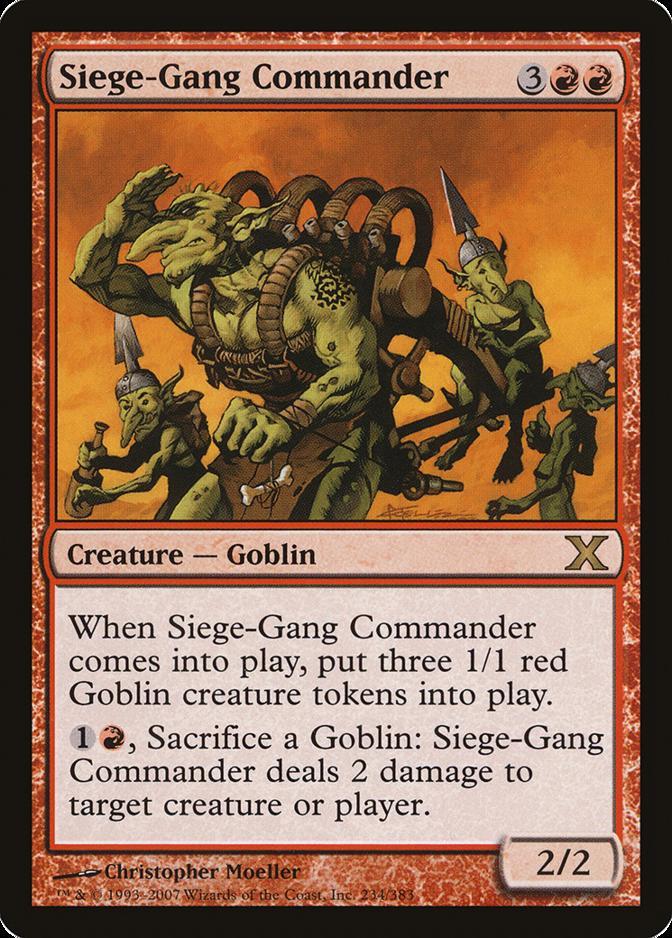 Siege-Gang Commander [10E]