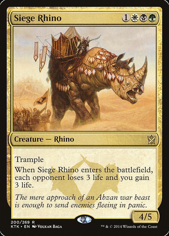 Siege Rhino [KTK]