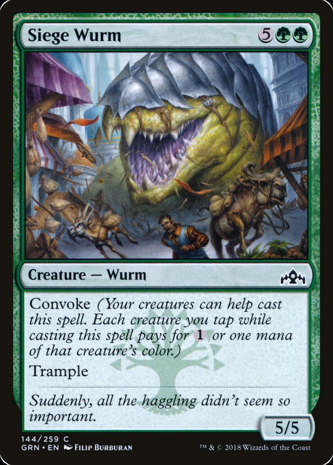Siege Wurm [GRN]