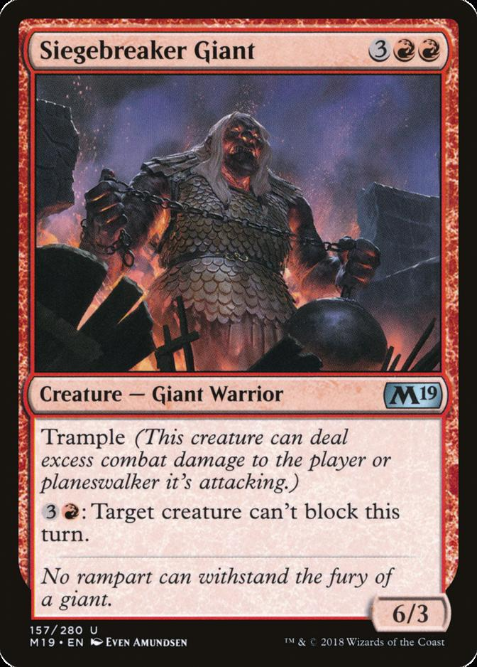 Siegebreaker Giant [M19]