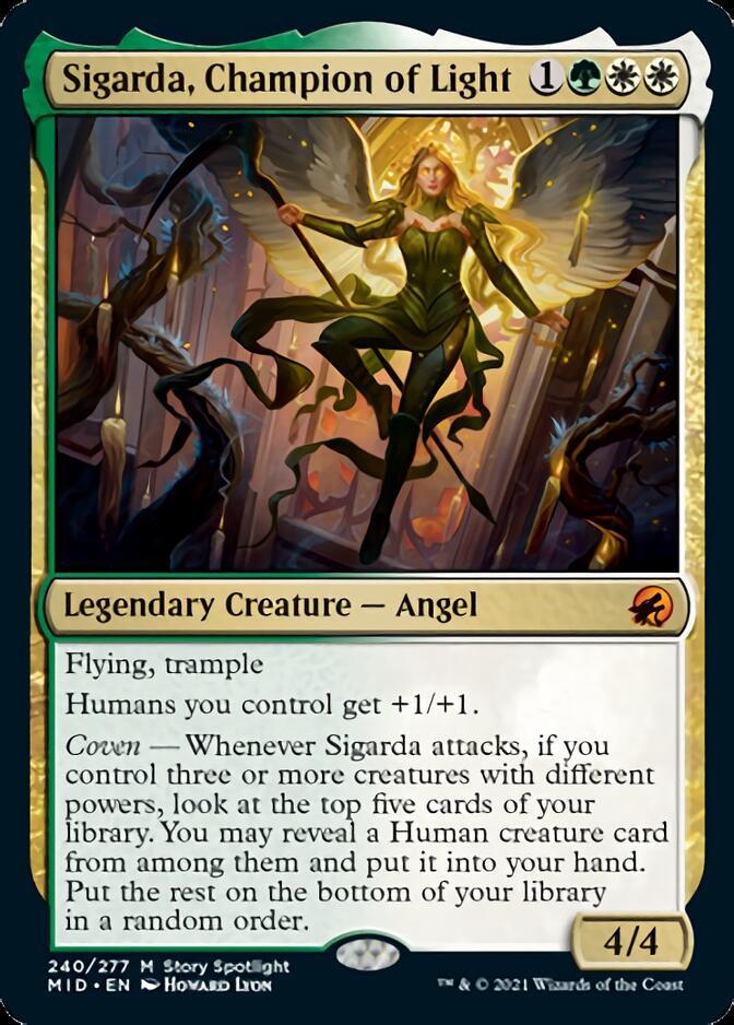 Sigarda, Champion of Light [MID]