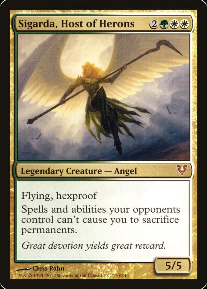 Sigarda, Host of Herons [AVR] (F)