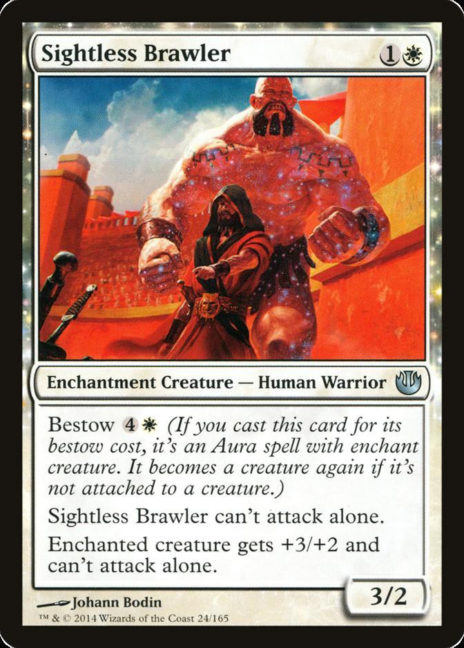 Sightless Brawler [JOU]