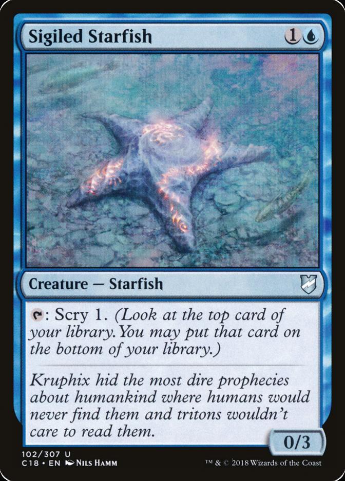 Sigiled Starfish [C18]