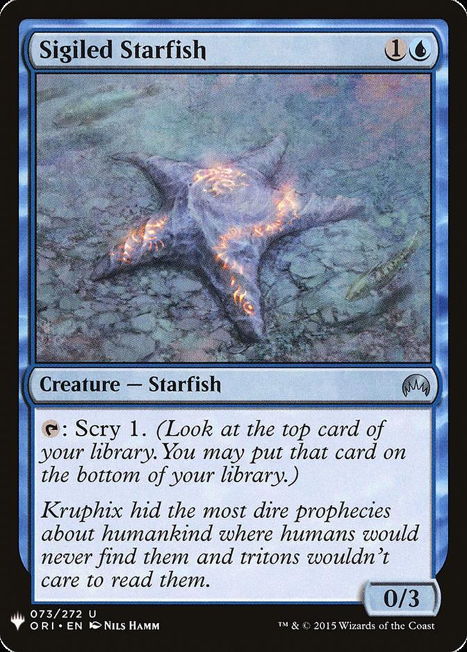 Sigiled Starfish [MB1]