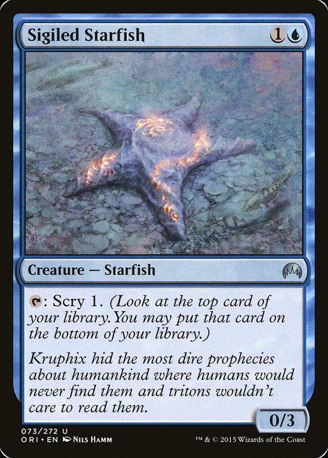 Sigiled Starfish [ORI]