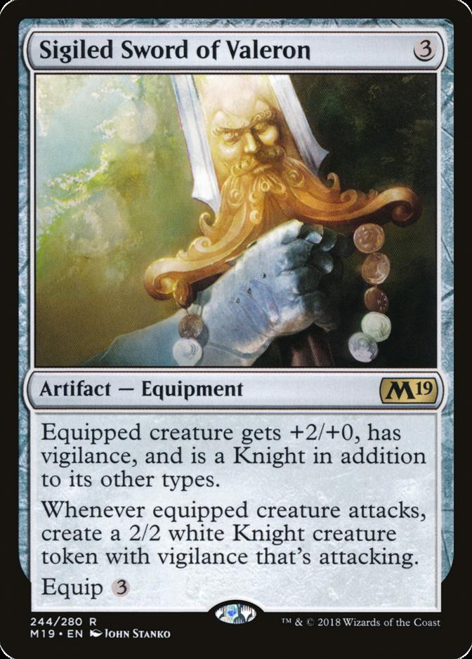Sigiled Sword of Valeron [M19] (F)