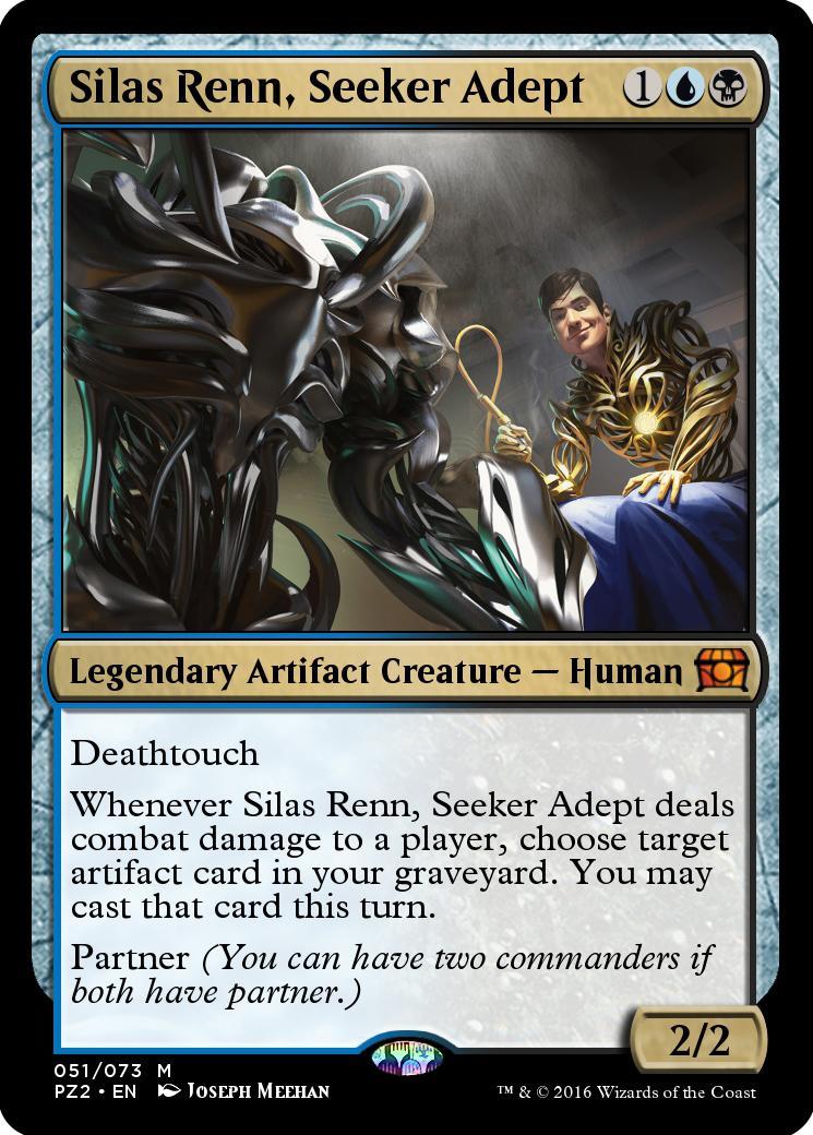 Silas Renn, Seeker Adept [PZ2]