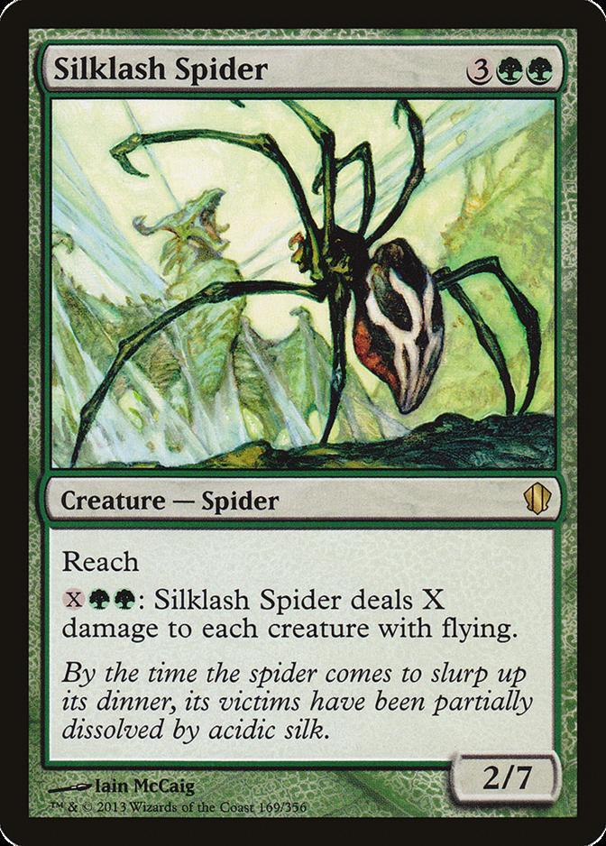 Silklash Spider [C13]