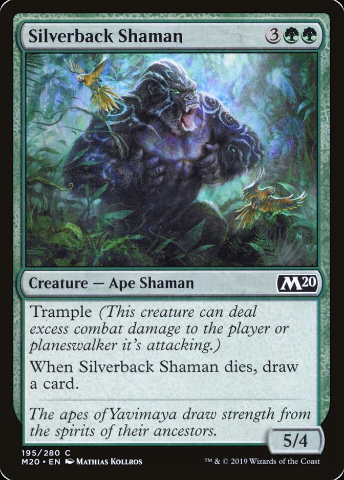 Silverback Shaman [M20]