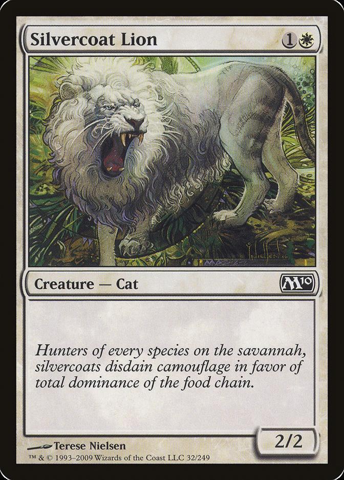 Silvercoat Lion [M10]