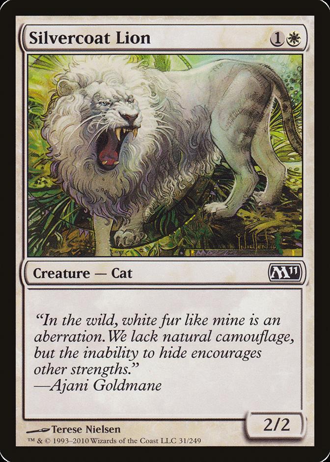 Silvercoat Lion [M11]