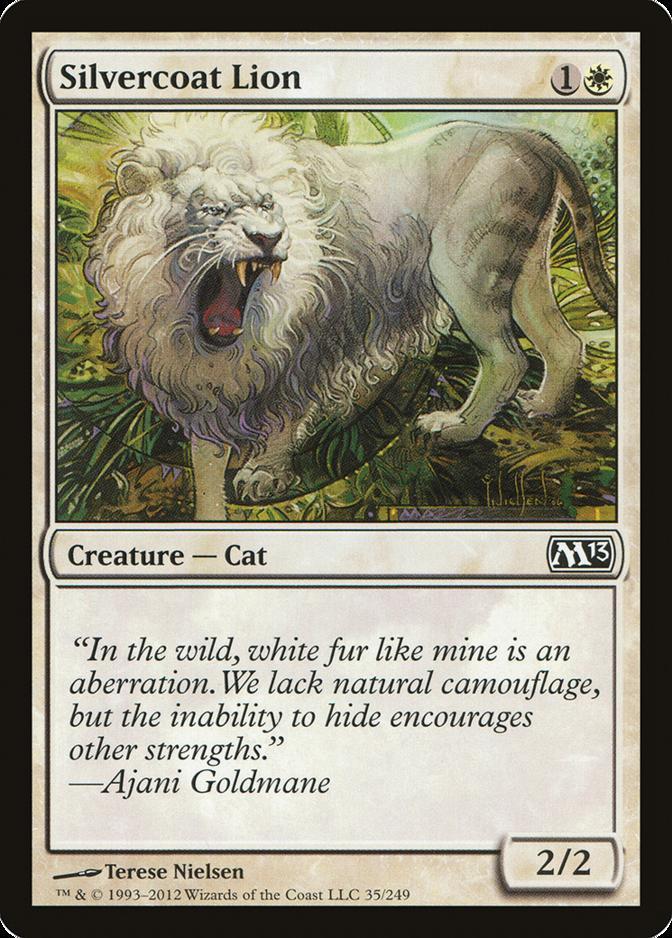 Silvercoat Lion [M13] (F)