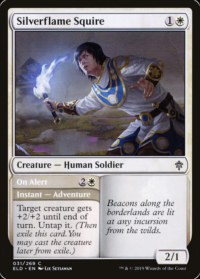 Silverflame Squire [ELD]