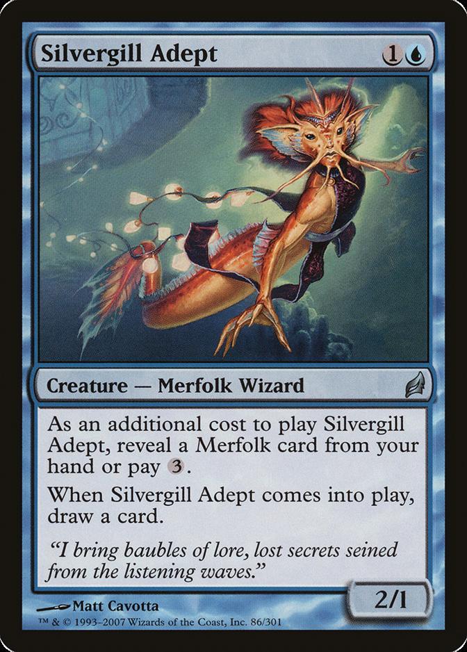 Silvergill Adept [LRW]