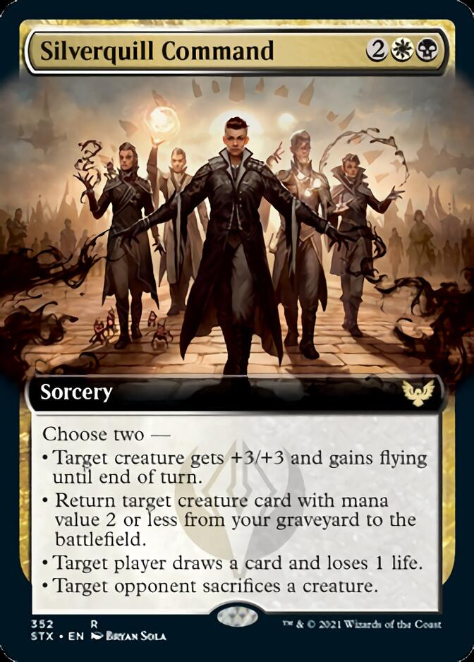 Silverquill Command <extended> [STX]
