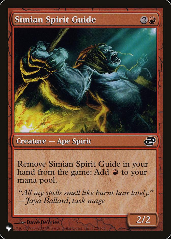 Simian Spirit Guide [PLIST]