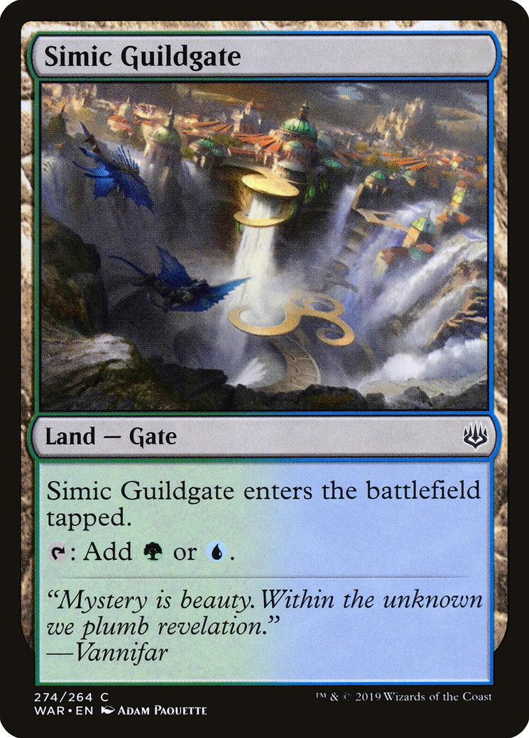 Simic Guildgate [WAR]