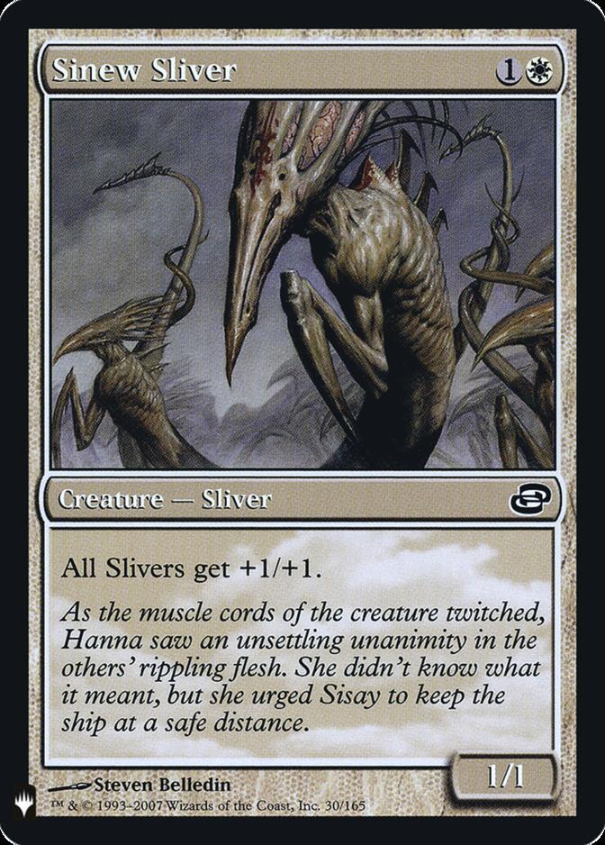 Sinew Sliver [FMB1] (F)