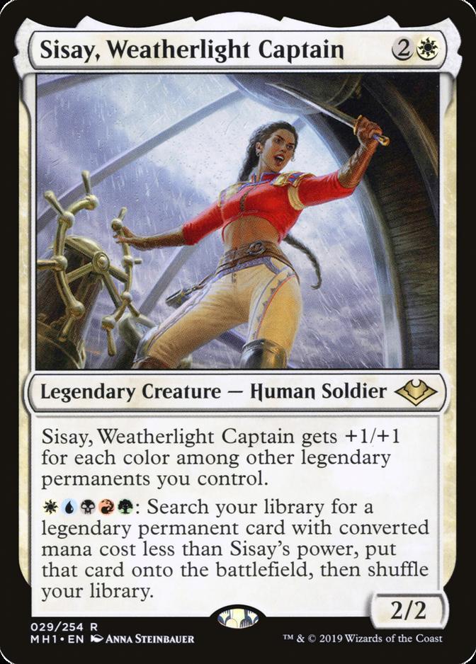 Sisay, Weatherlight Captain [MH1]