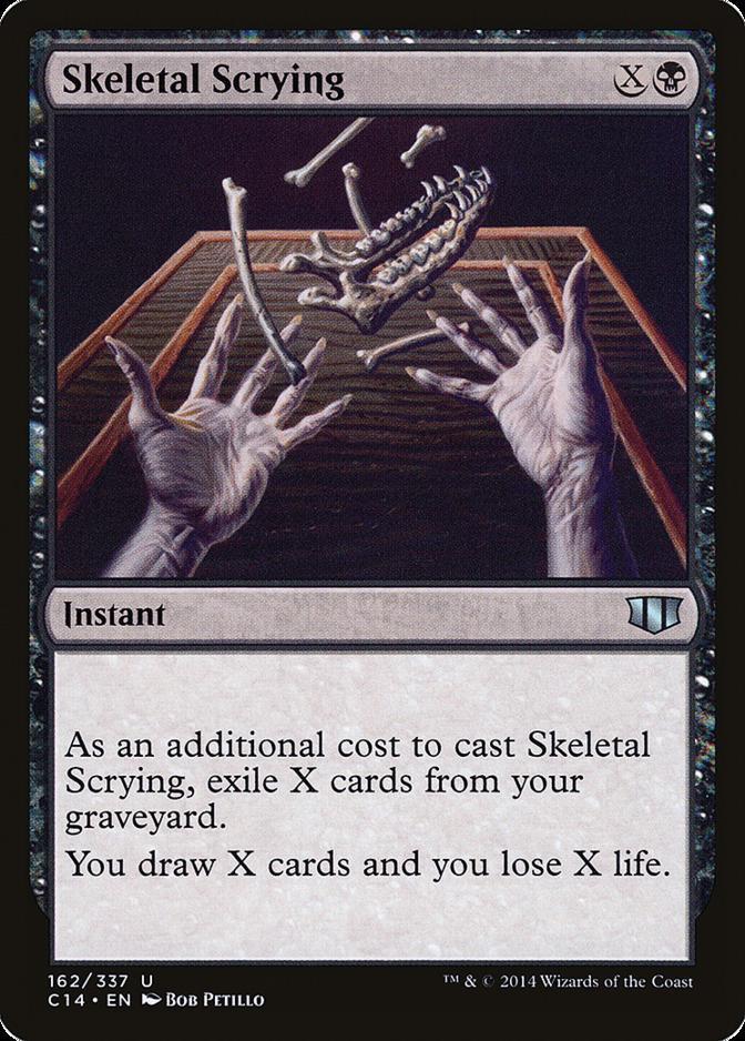Skeletal Scrying [C14]