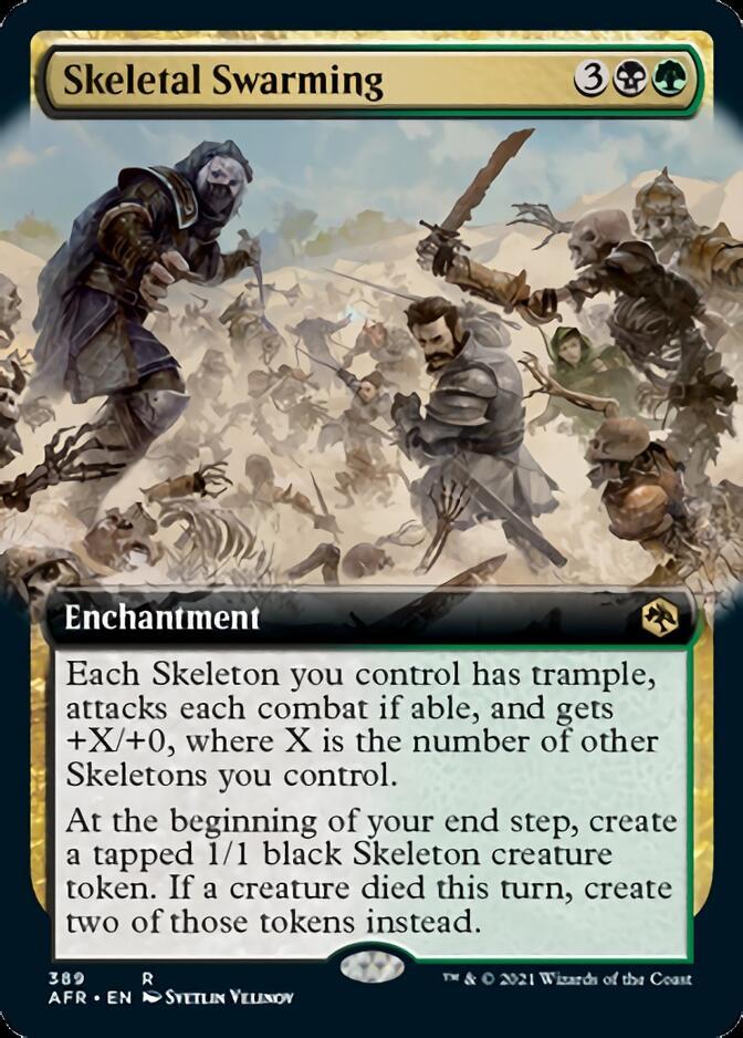 Skeletal Swarming <extended> [AFR]