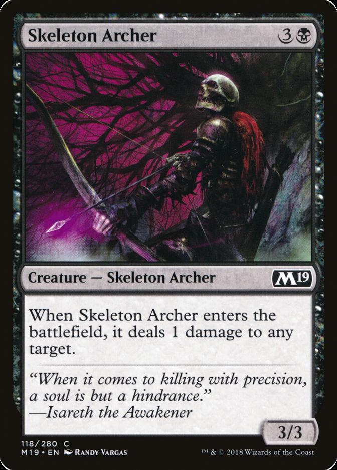 Skeleton Archer [M19] (F)