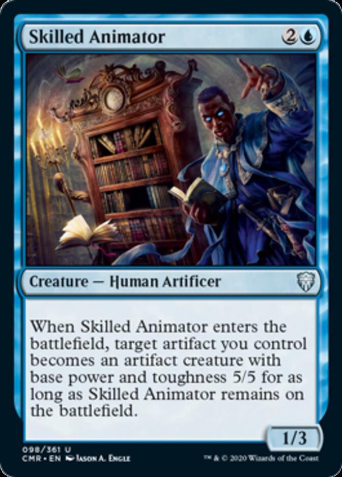 Skilled Animator [CMR]