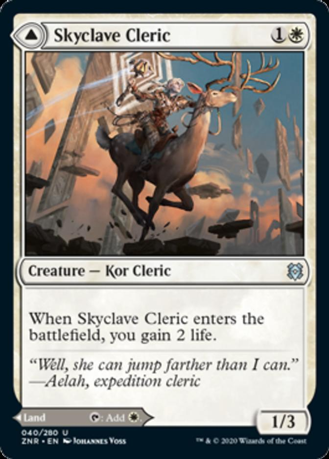 Skyclave Cleric [ZNR]
