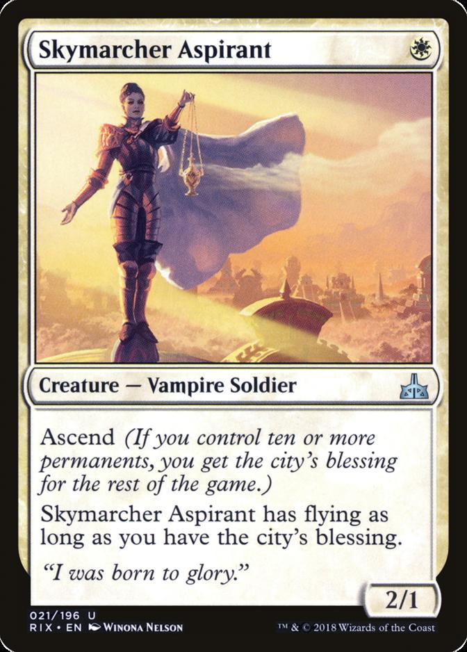 Skymarcher Aspirant [RIX]