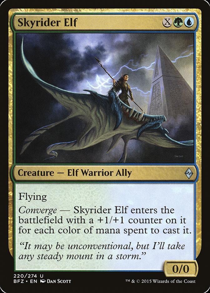 Skyrider Elf [BFZ]