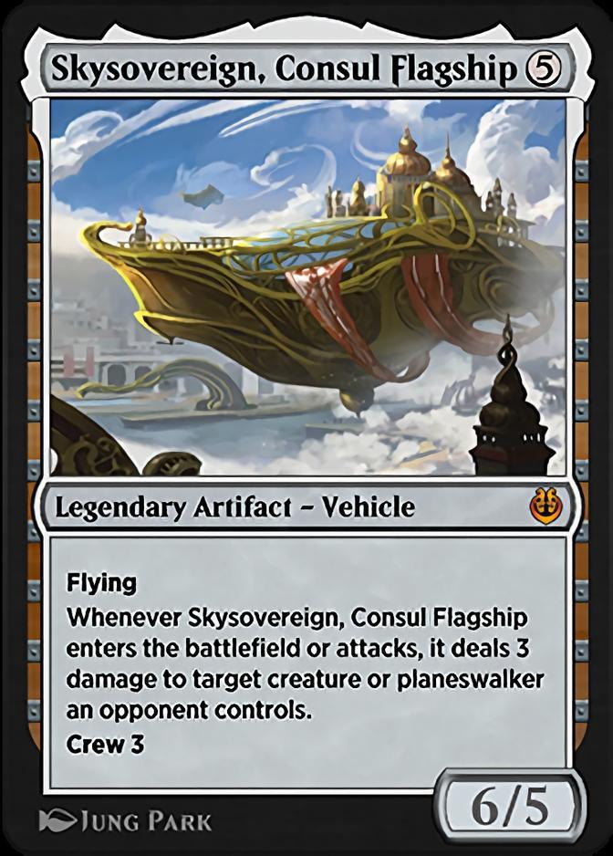 Skysovereign, Consul Flagship [KLR]