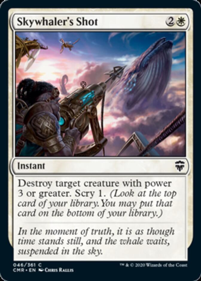 Skywhaler's Shot [CMR]