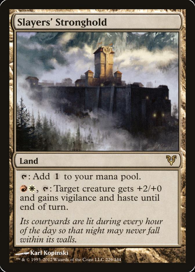 Slayers' Stronghold [AVR]