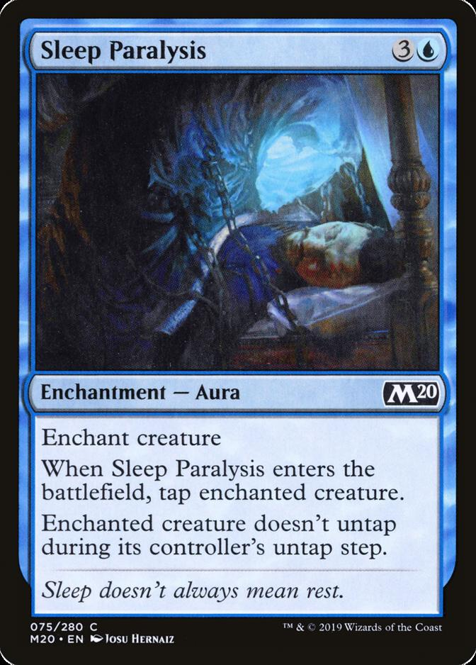 Sleep Paralysis [M20]