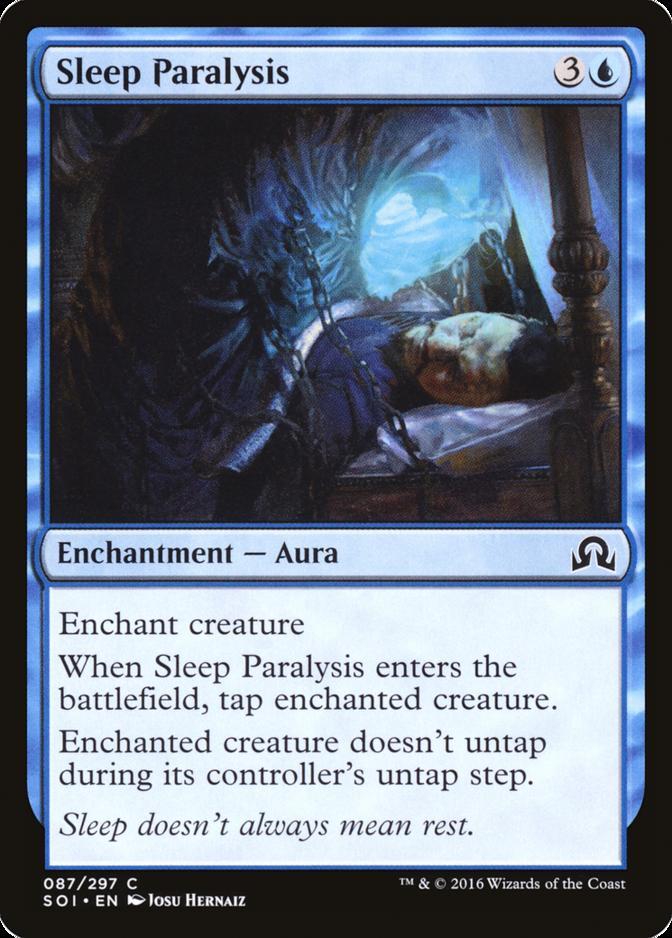Sleep Paralysis [SOI]