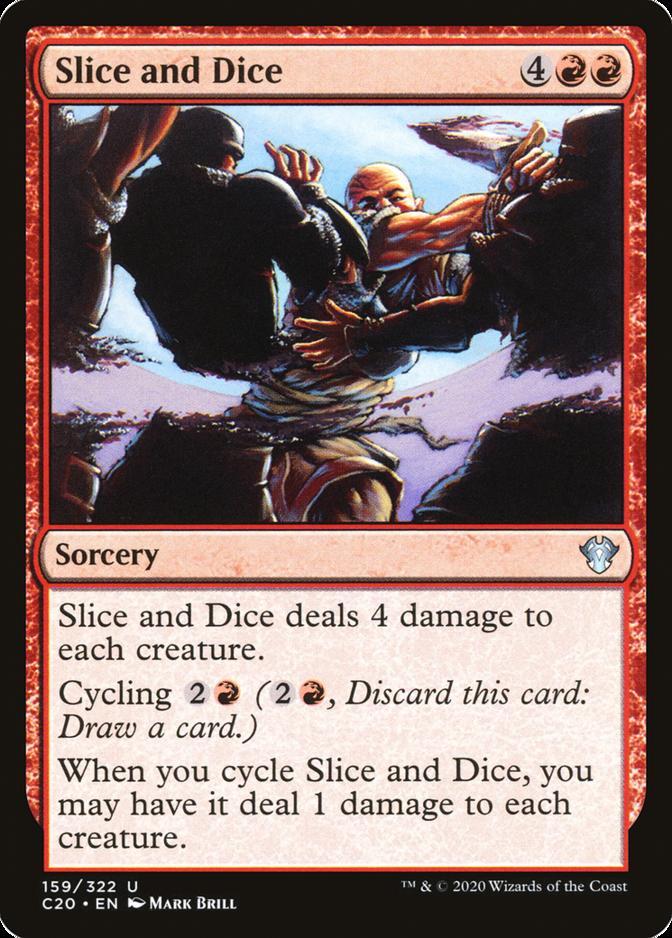 Slice and Dice [C20]