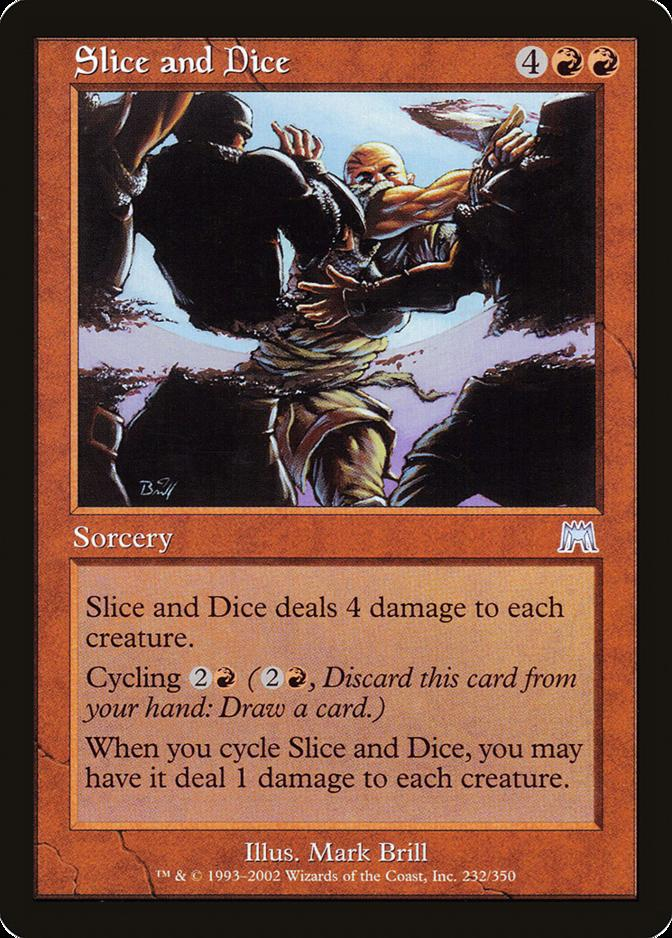 Slice and Dice [ONS]