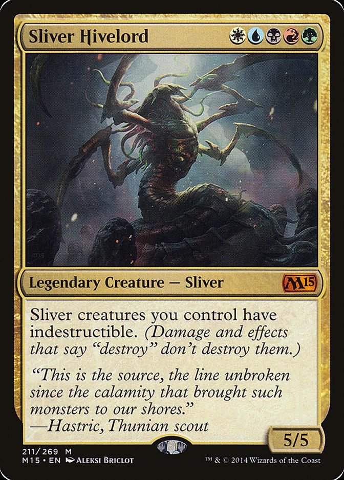 Sliver Hivelord [M15]