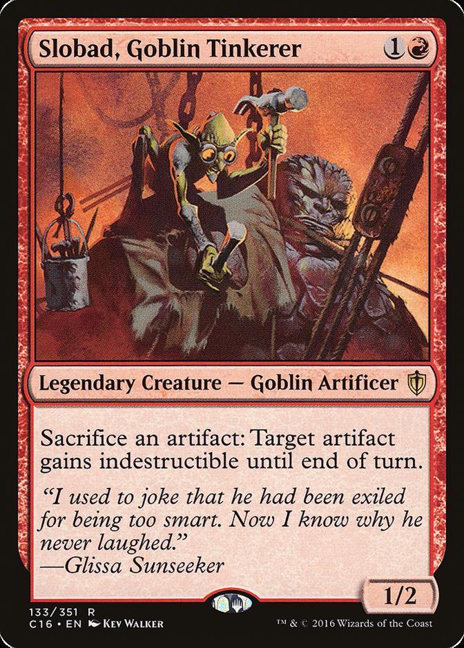 Slobad, Goblin Tinkerer [C16]