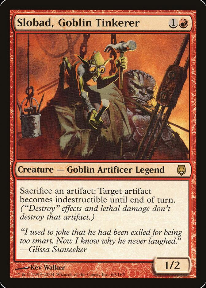 Slobad, Goblin Tinkerer [DST]
