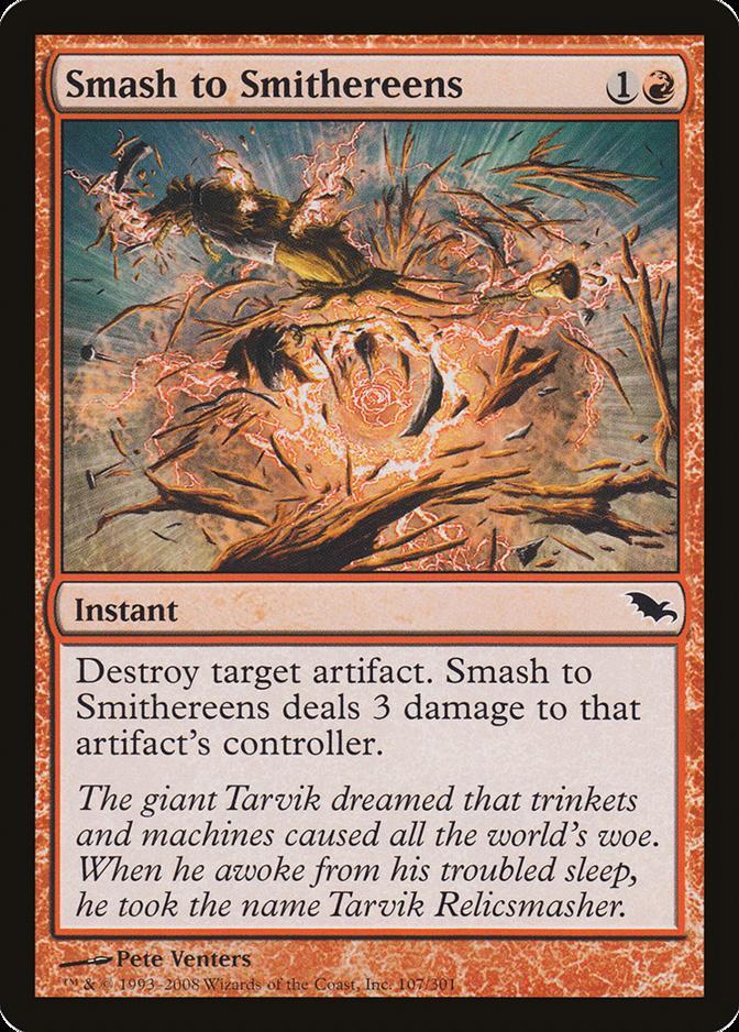 Smash to Smithereens [SHM] (F)