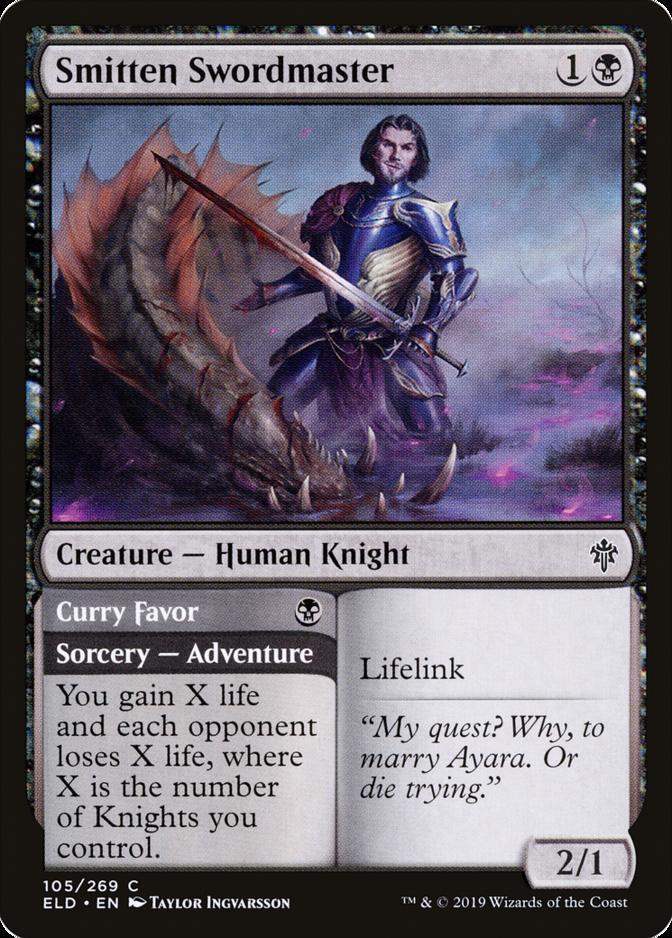 Smitten Swordmaster [ELD]