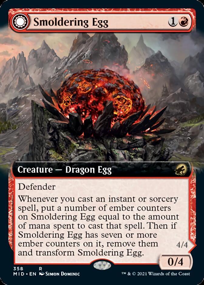 Smoldering Egg <extended> [MID]
