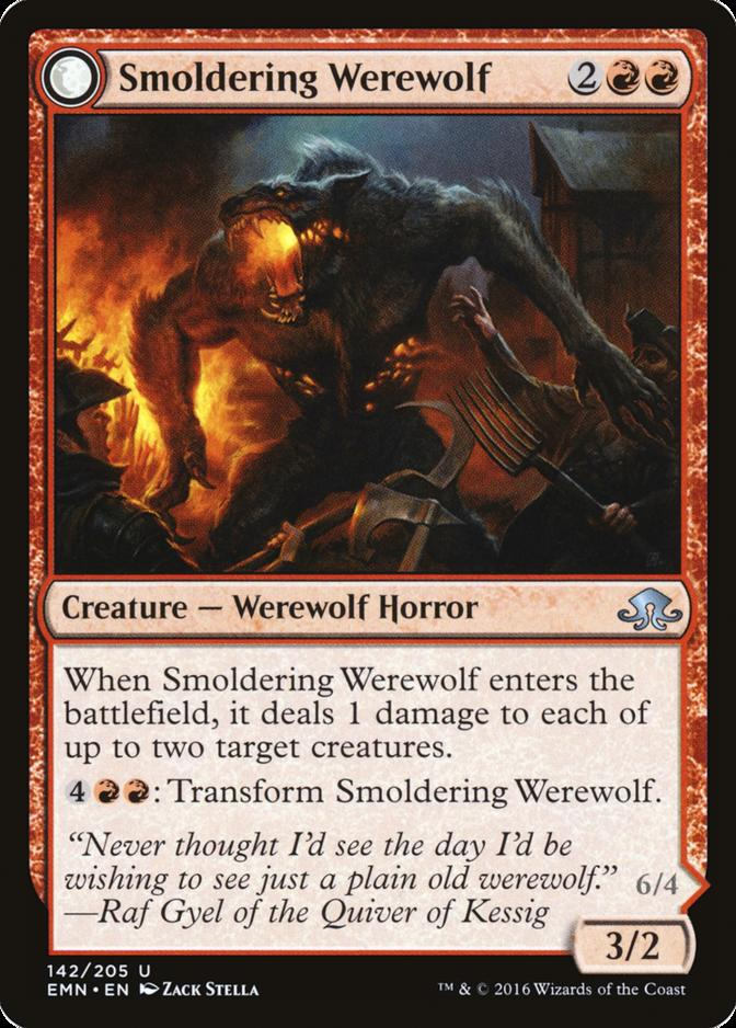 Smoldering Werewolf [EMN]