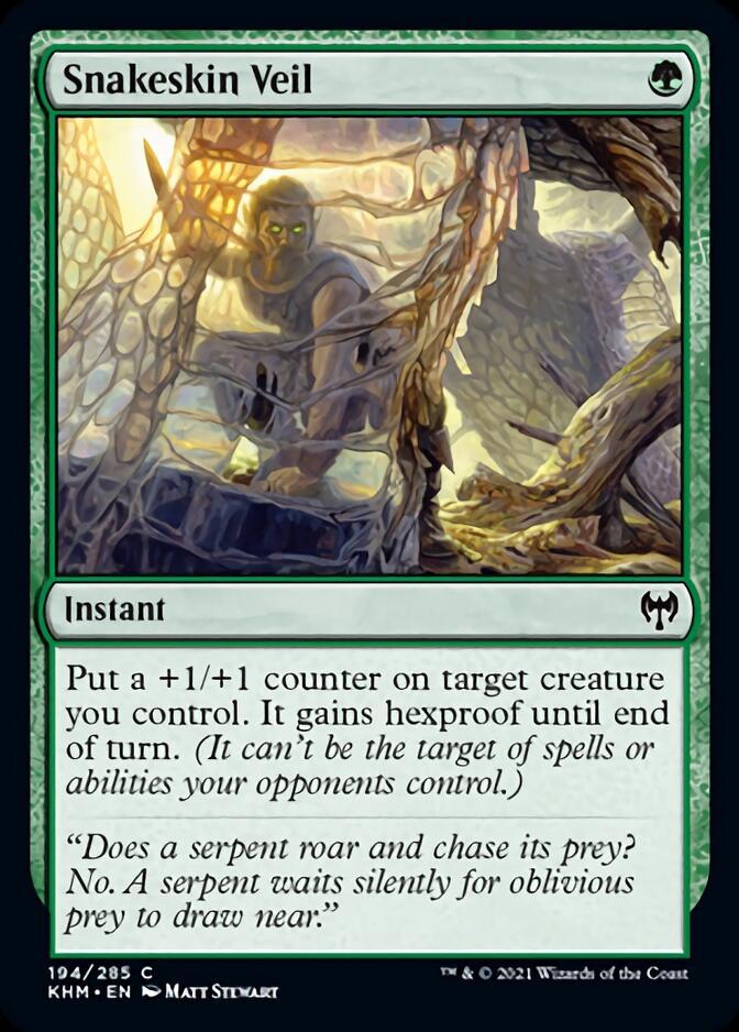 Snakeskin Veil [KHM]