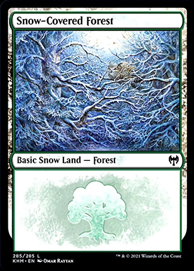 Snow-Covered Forest <285> [KHM]