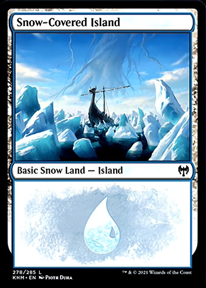 Snow-Covered Island <278> [KHM]
