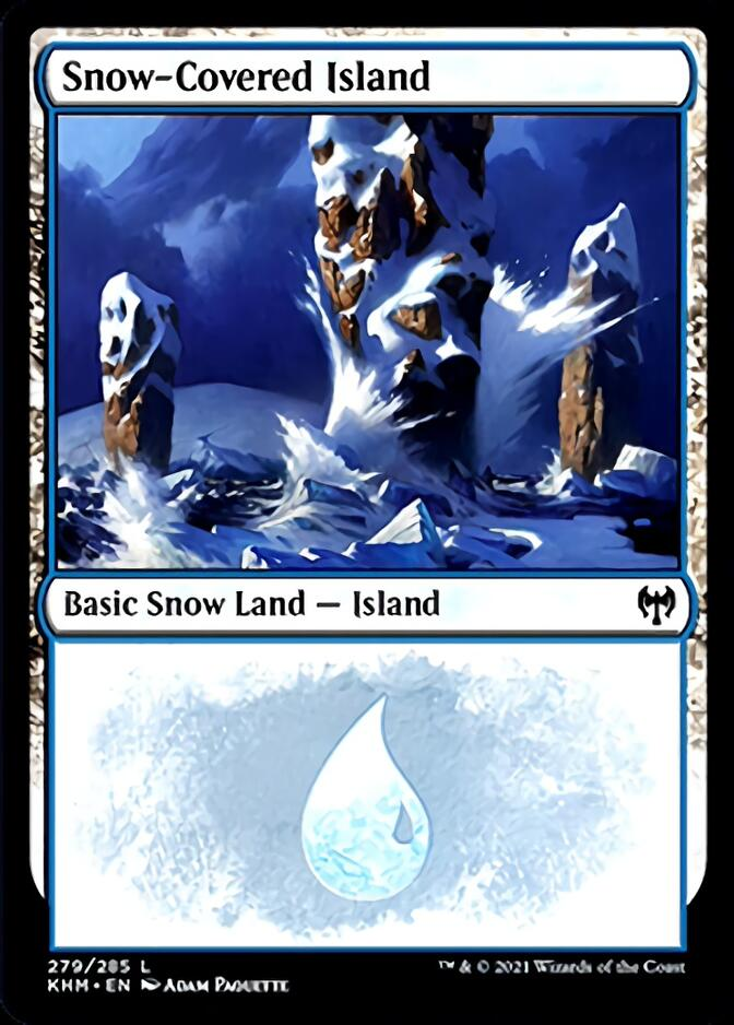 Snow-Covered Island <279> [KHM]