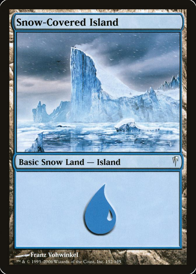 Snow-Covered Island [CSP] (F)